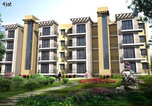 3 BHK Apartments (1055 Sq. Ft.)
