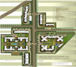 3 BHK + Servant Apartments (2257 sq. ft.)